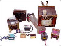 Small Power Transformers, Solenoid Coils and Winding Jobwork