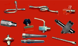 Pressure Gauges, Temperature Gauges, Gauge Accessories
