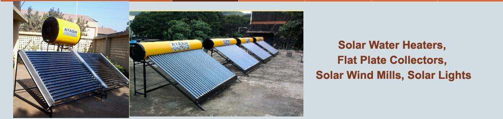 Solar Water Heaters Flat Plate Solar Collectors Solar