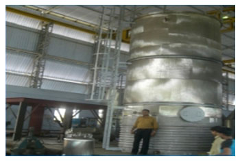 Continuous Nitration System S S Storage Tank Reactor