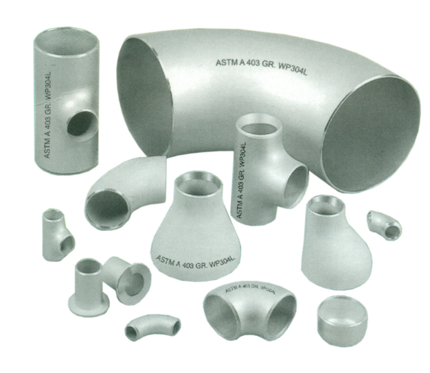 Pipes and pipe fittings buttweld flanges