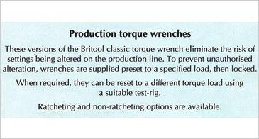 Torque Wrenches, Britool Torque Wrenches, AVT100A Torque