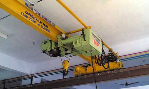 Industrial Trolleys Goods Lift Cranes Single Girder E O