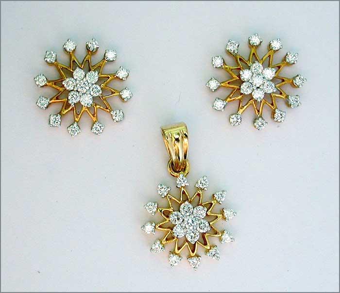 Diamond pendant set diamond pendant necklace diamond pendants diamond pendant set aloadofball Image collections