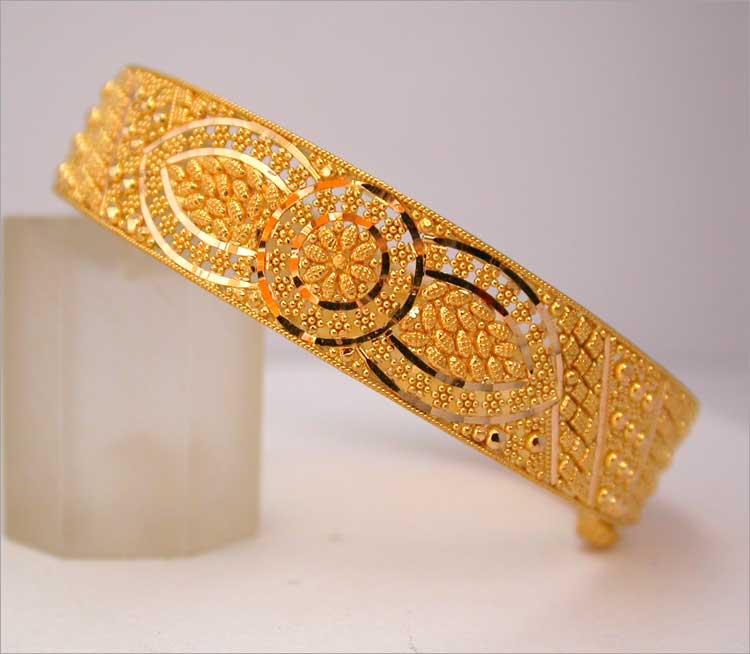 Bangle Bracelets 22kt Gold Bangles 18k Gold Bangles
