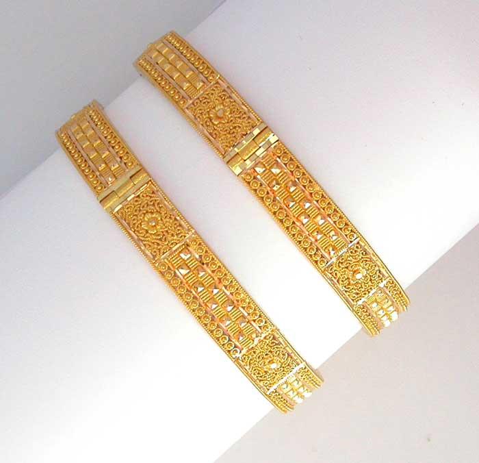 Gold Plated Bangles Gold Charm Bracelet Gold Bangles