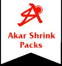 AKAR SHRINK PACKS
